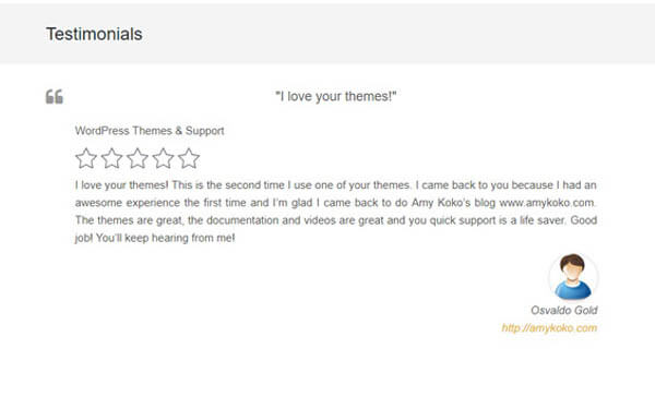 WPM Testimonial WordPress Plugin