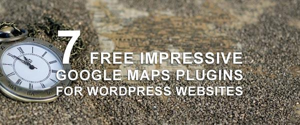 7 Free Impressive Google Maps Plugins For WordPress Websites