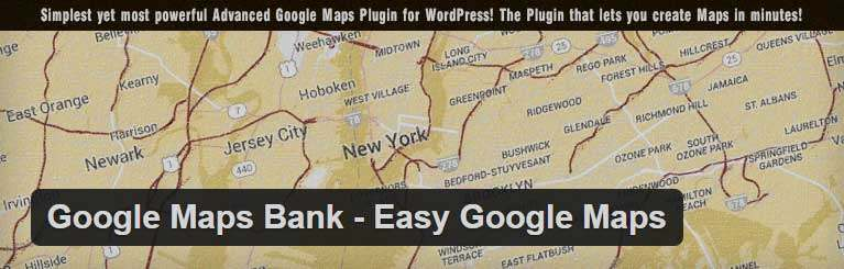 Google Map Bank WordPress Plugin