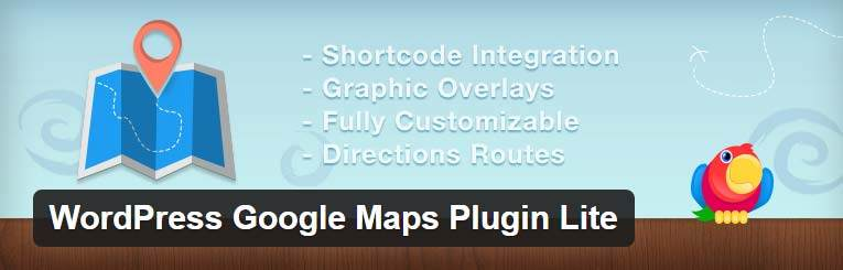 WordPress Google Maps Plugin Lite