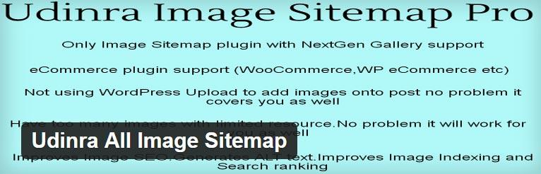 Udinra All Image Sitemap WordPress Plugin