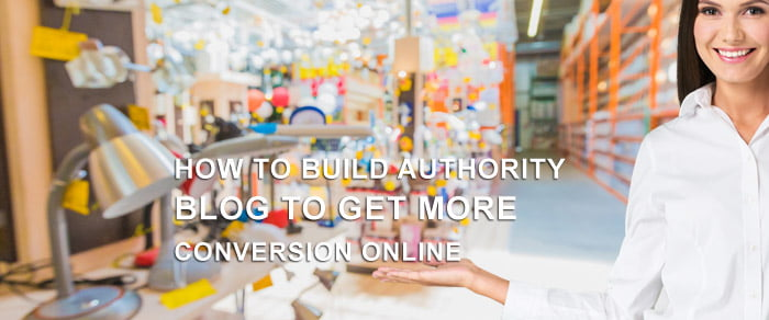 How To Build Authority Blog To Get More Conversion Online