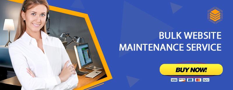 Bulk Website Maintenance Services
