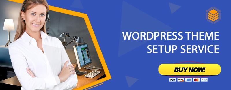 WordPress Theme Setup Service