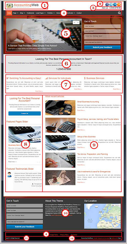 AccountingWeb – Accounting wordpress theme Documentation