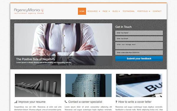 AgencyMania WordPress Theme
