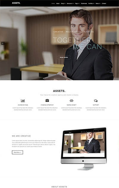 Assets Multi-Purpose WordPress Theme