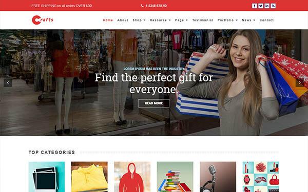Crafts – Multi-Purpose WordPress Theme
