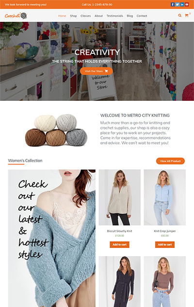 Crochet Multipurpose WooCommerce WordPress Theme