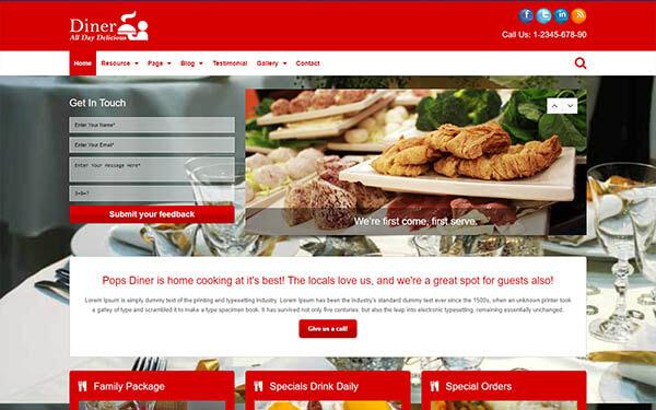 Diner WordPress Theme