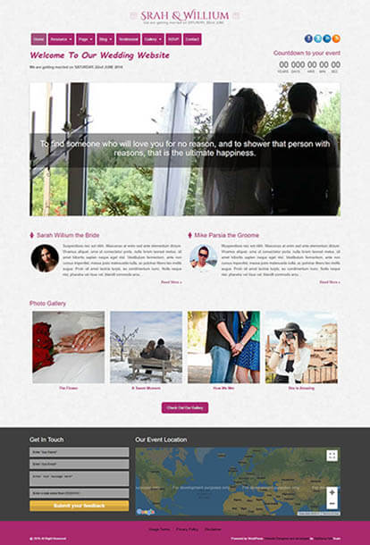 Loveria WORDPRESS THEME Full Demo