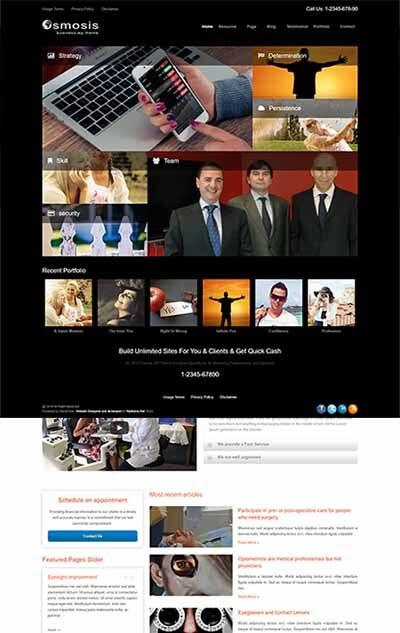 Osmosis Marketing WordPress Theme