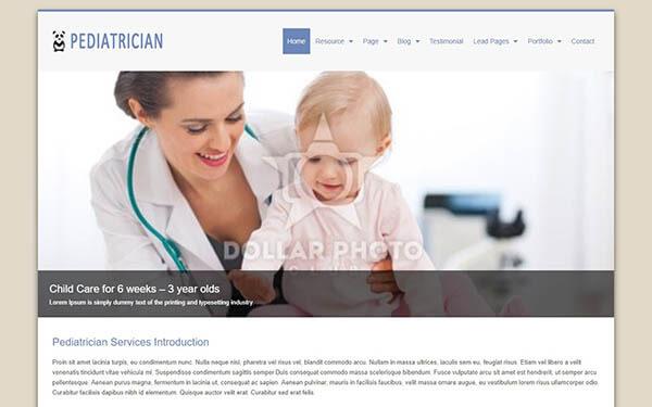 Pediatrician WordPress Theme