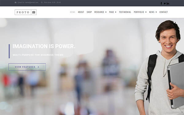 Proto – Multi-Purpose WordPress Theme