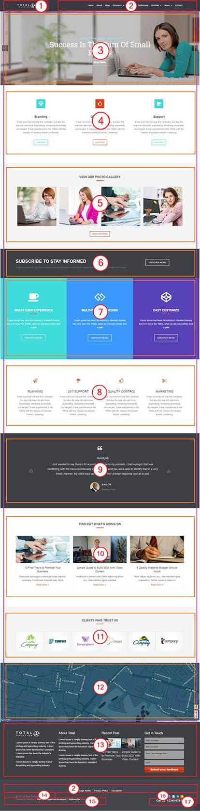 Total Multi-Purpose WordPress Theme | Corporate Website Template Documentation