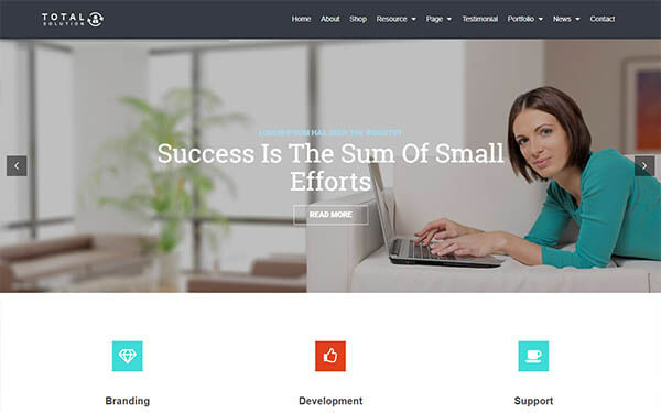 Total Multi-Purpose WordPress Theme | Corporate Website Template