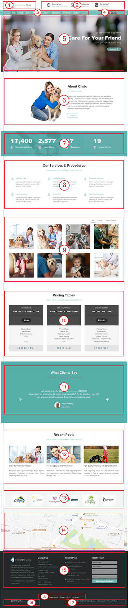 Veterinary Clinic WordPress Theme Documentation