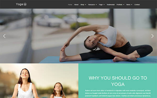 Yoga – Health Beauty & Sport WordPress Theme