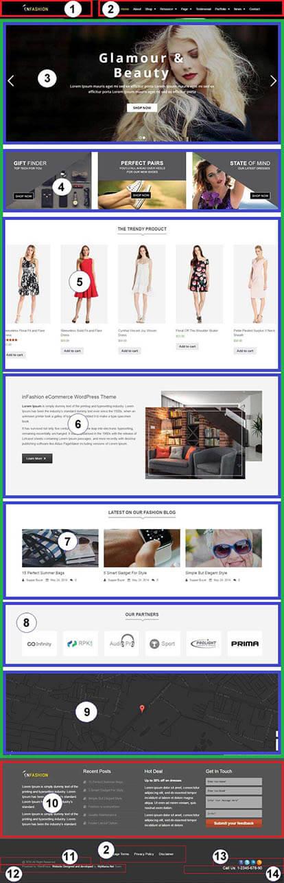 inFashion – Fashion & Lifestyle WooCommerce WP Theme Documentation